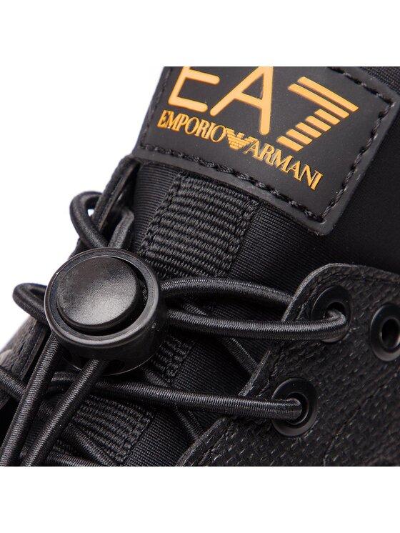 EA7 Emporio Armani EA7 Emporio Armani Sneakersy X8X009 XK009 A212 Czarny