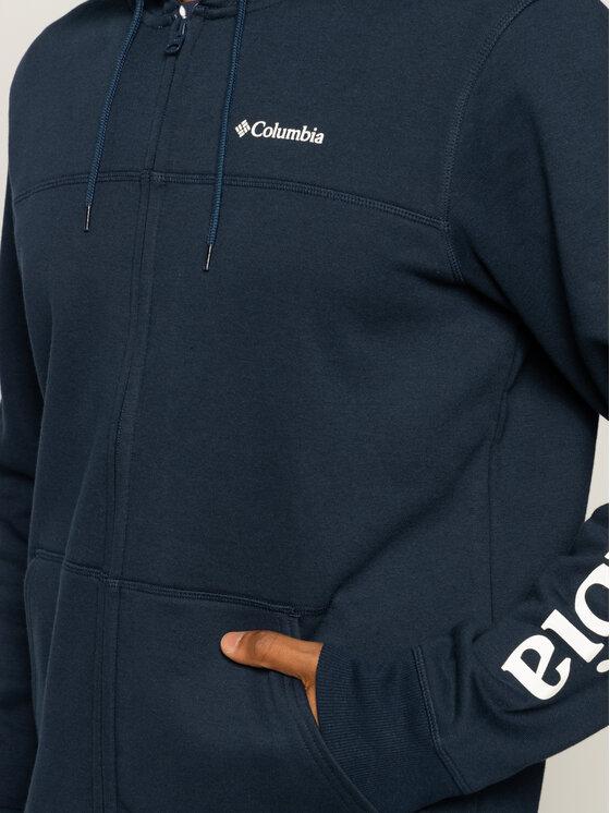 Columbia Columbia Bluza M Columbia Logo AM0368 Granatowy Regular Fit