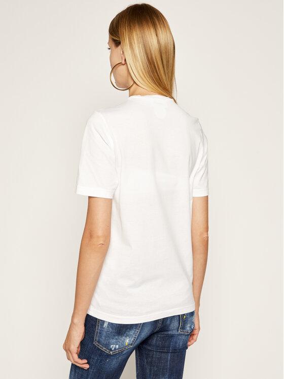 Dsquared2 Dsquared2 Marškinėliai Renny S75GD0095 Balta Regular Fit