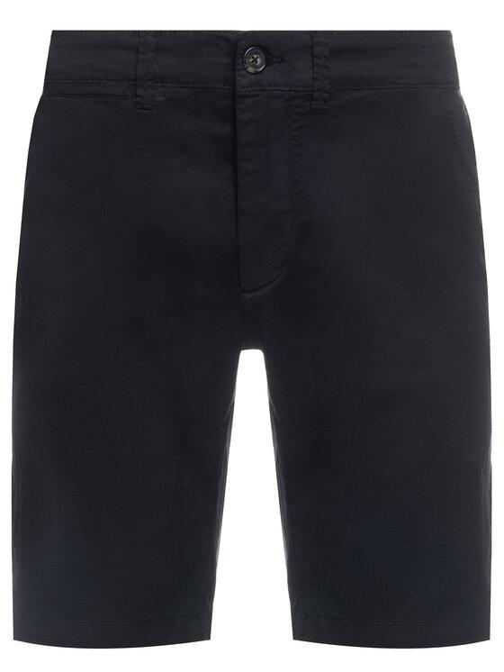 Pepe Jeans Pepe Jeans Pantaloncini di tessuto Mc Queen PM800227C75 Nero Regular Fit