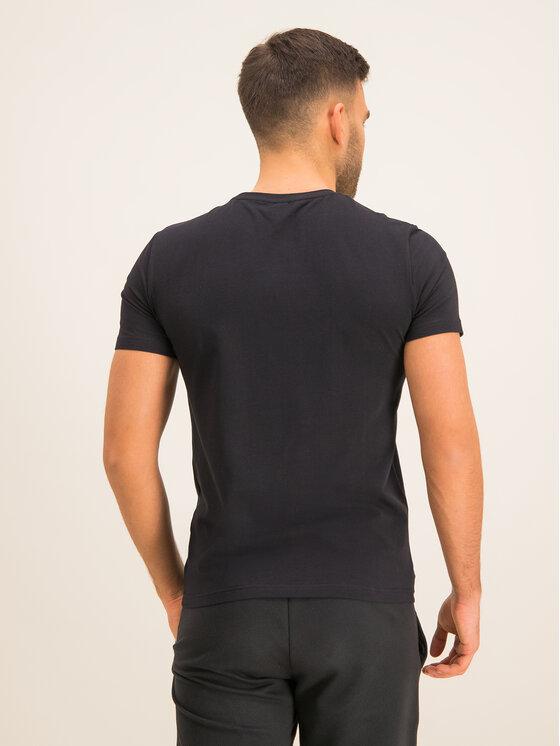EA7 Emporio Armani EA7 Emporio Armani T-Shirt 3HPT13 PJ03Z 1200 Μαύρο Regular Fit