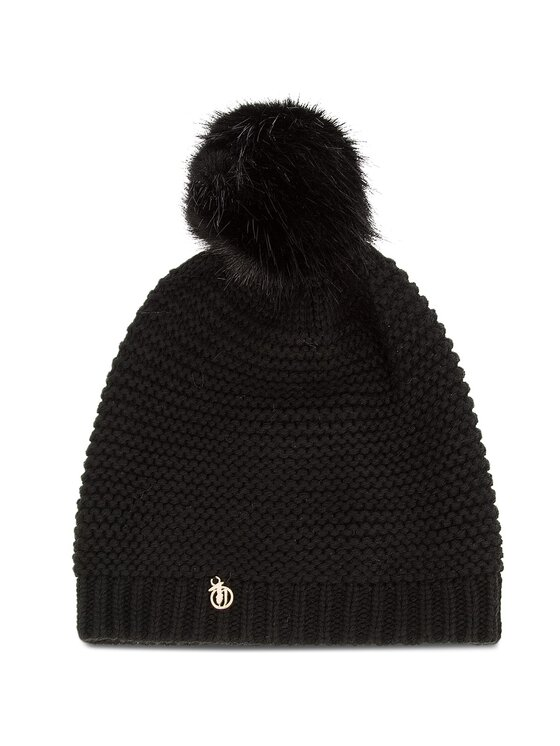 Trussardi Trussardi Σκούφος Hat Knitted Pon Pon 59Z00116 Μαύρο