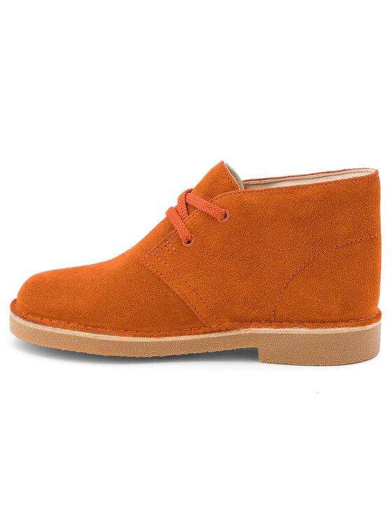 Clarks Clarks Polacchi Desert Boot 261350667 Arancione