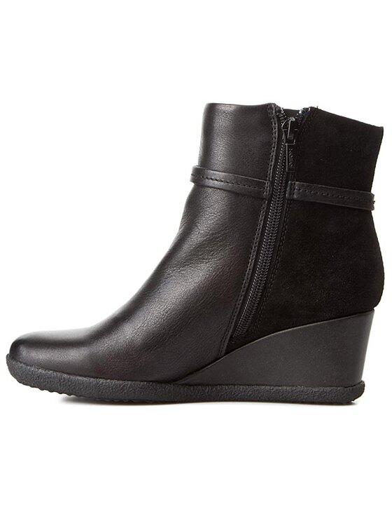 Geox Geox Členková obuv D Amelia St B D5479B 04323 C9999 Čierna