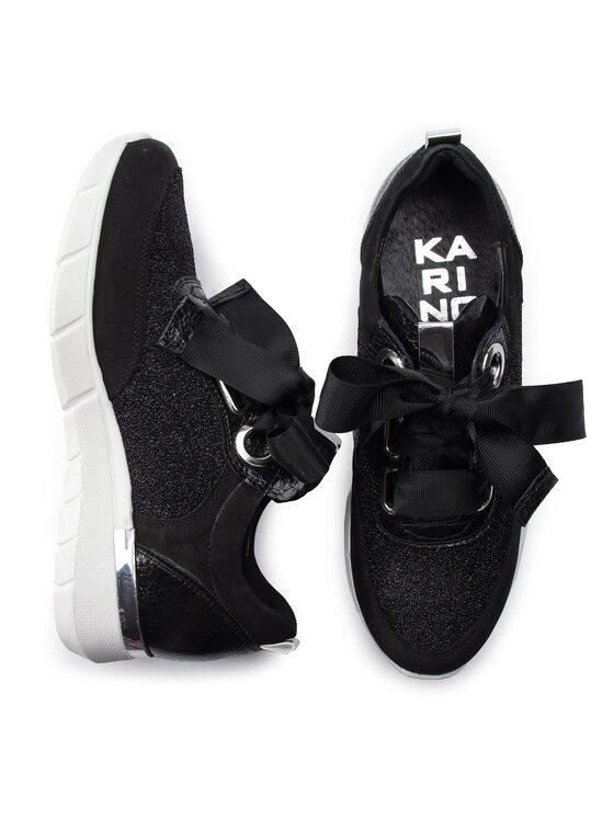 Karino Karino Sneakersy 2912/003-P Čierna