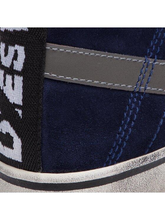 Diesel Diesel Sneakersy D-Velows Mid Lace Y01759 P1834 T6062 Granatowy