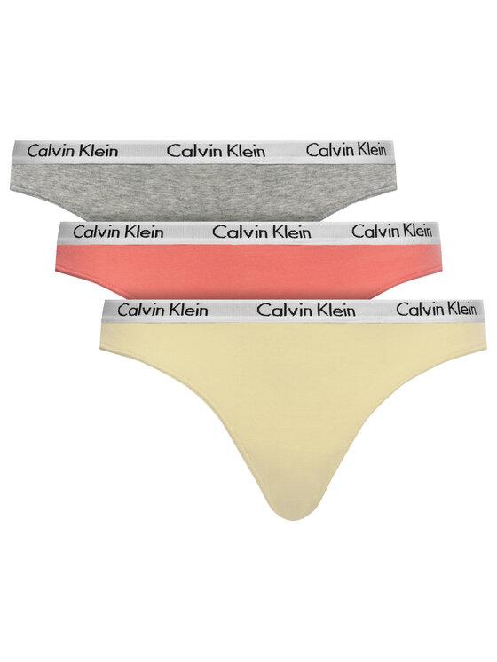 Calvin Klein Underwear Calvin Klein Underwear Set di 3 perizomi 000QD3587E Multicolore