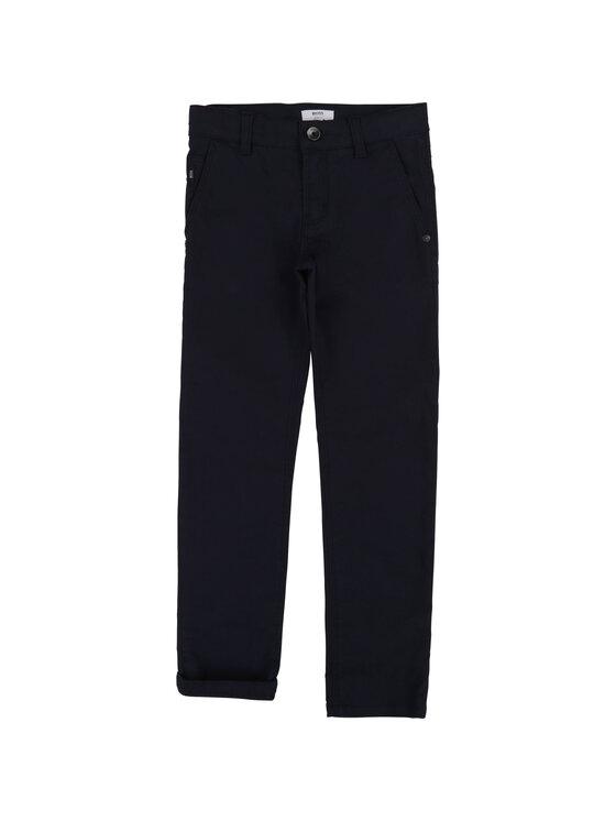 Boss Boss Pantaloni din material J24606 S Bleumarin Slim Fit