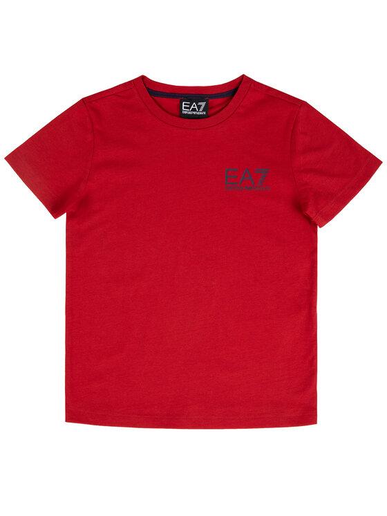 EA7 Emporio Armani EA7 Emporio Armani T-shirt 6GBT51 BJ02Z 1473 Rouge Regular Fit