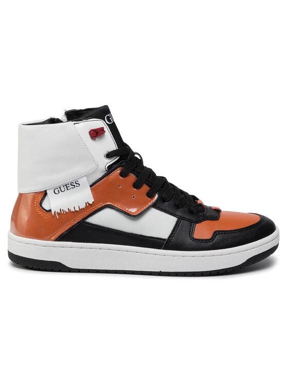 Guess Guess Sneakers Dunk Hi FM8DNK ELE12 Arancione