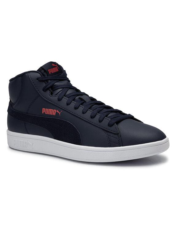 Puma Puma Sneakersy Smash v2 Mid L 366924 03 Granatowy