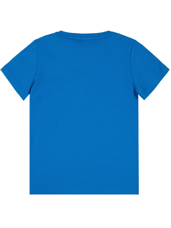EA7 Emporio Armani EA7 Emporio Armani T-Shirt 3HBT54 BJ7CZ 1595 Niebieski Regular Fit