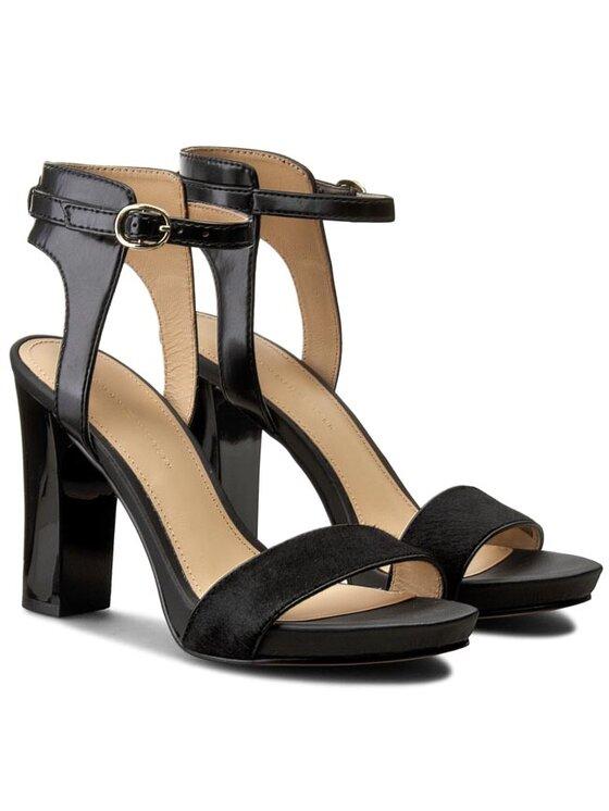 Tommy Hilfiger Tommy Hilfiger Sandále Janet 3C FW56820678 Čierna