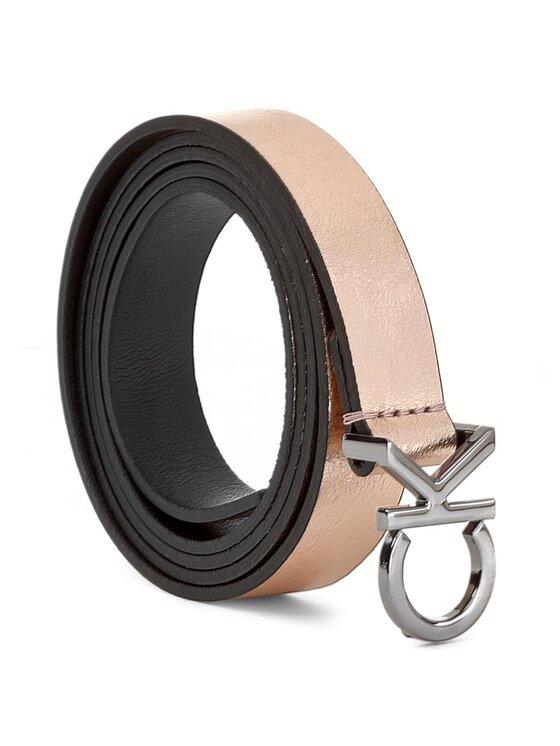 Calvin Klein Calvin Klein Cintura da donna Ck Skinny Waistbelt K60K603557 75 Oro