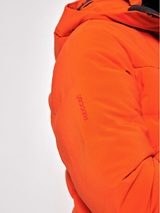 Helly Hansen Helly Hansen Kurtka narciarska Rivaridge Puffy 65689 Pomarańczowy Relaxed Fit