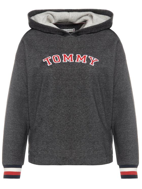 Tommy Hilfiger Tommy Hilfiger Džemperis Batwing UW0UW01961 Pilka Regular Fit