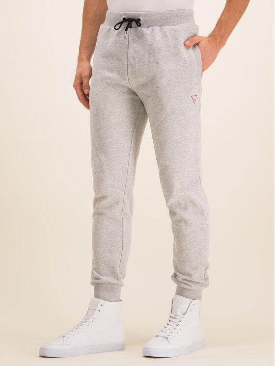 Guess Guess Παντελόνι φόρμας U01Q01 FL038 Γκρι Regular Fit