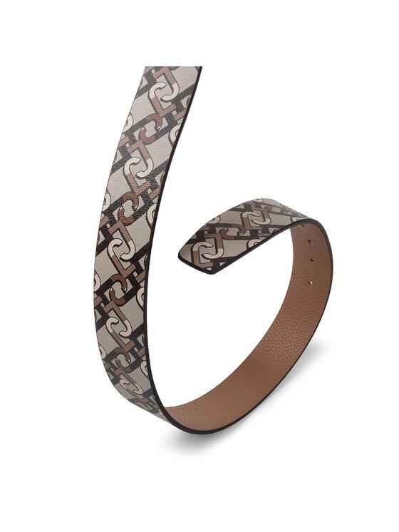Liu Jo Liu Jo Moteriškas Diržas Lj Belt 3.5 Cm Metal N69231 E0017 Smėlio
