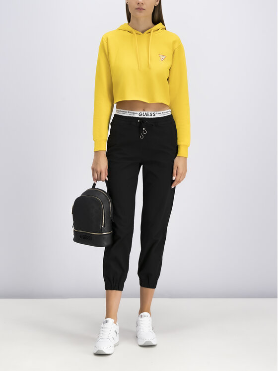 Guess Guess Sweatshirt W94Q56 K8RS0 Gelb Oversize