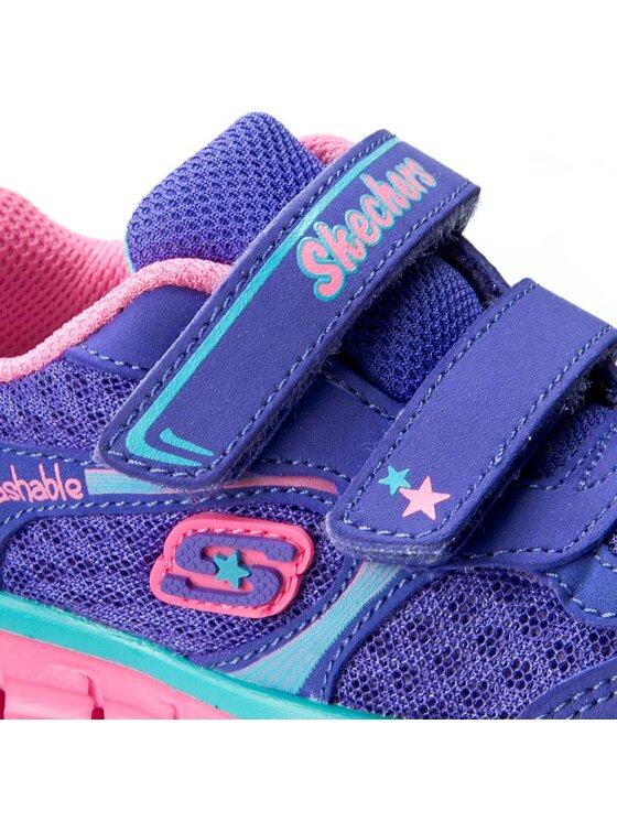 Skechers Skechers Półbuty Lil Softy 80867N/PRMT Fioletowy