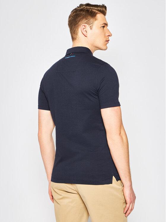 Aeronautica Militare Aeronautica Militare Polo marškinėliai 201PO1417P173 Tamsiai mėlyna Regular Fit