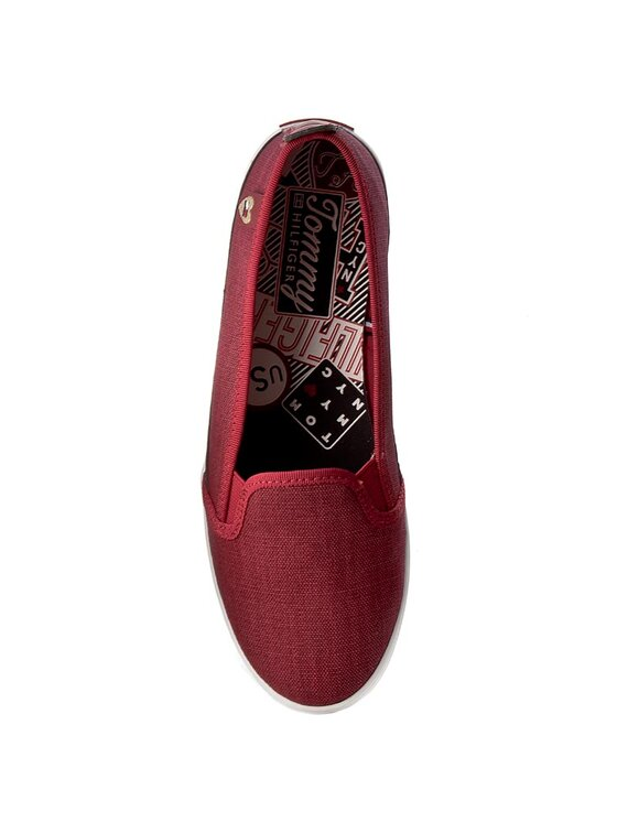 Tommy Hilfiger Tommy Hilfiger Гуменки Keira Hg 2D1 FW0FW00342 Бордо
