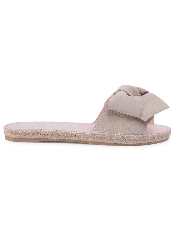 Manebi Manebi Espadrilky Sandals With Bow K 1.1 J0 Béžová