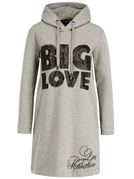LOVE MOSCHINO LOVE MOSCHINO Плетена рокля W5B1901E2117 Regular Fit