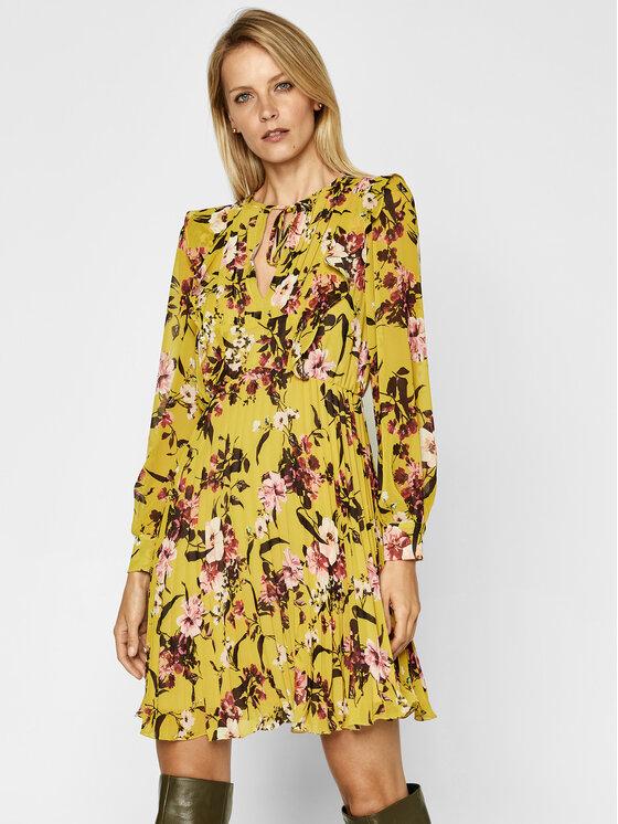 iBlues Kasdieninė suknelė Dingo 72260107 Geltona Regular Fit
