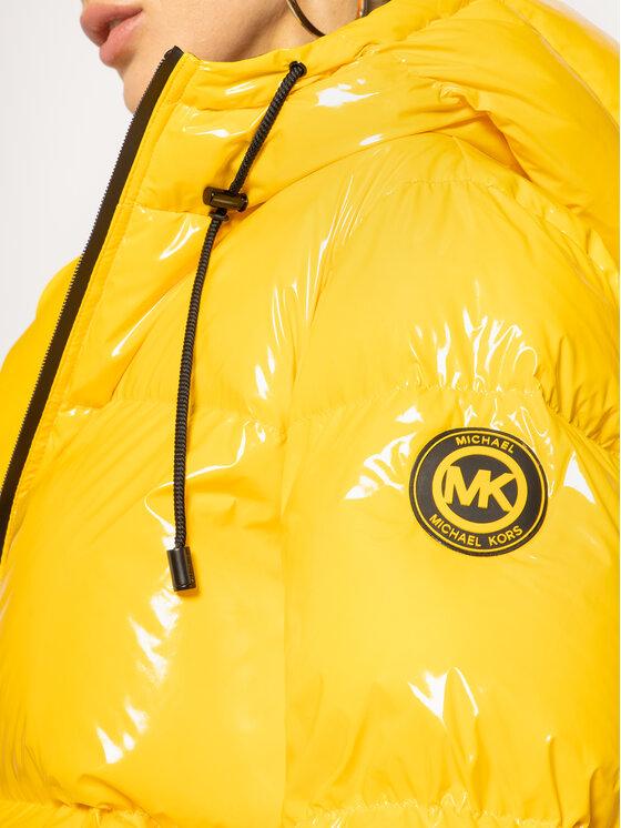 MICHAEL Michael Kors MICHAEL Michael Kors Pūkinė striukė MH92J25D2W Geltona Regular Fit