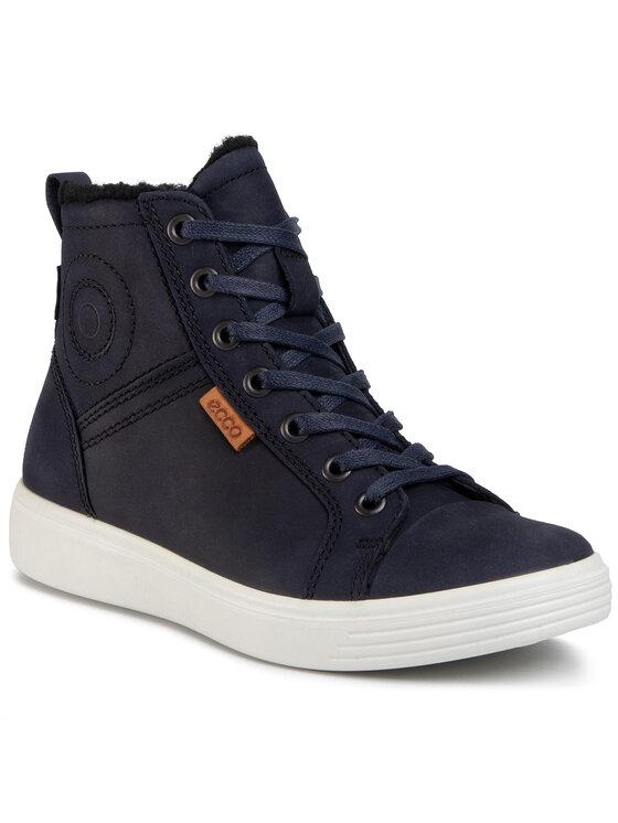ECCO Auliniai batai S7 Teen GORE-TEX 78007302303 Tamsiai mėlyna