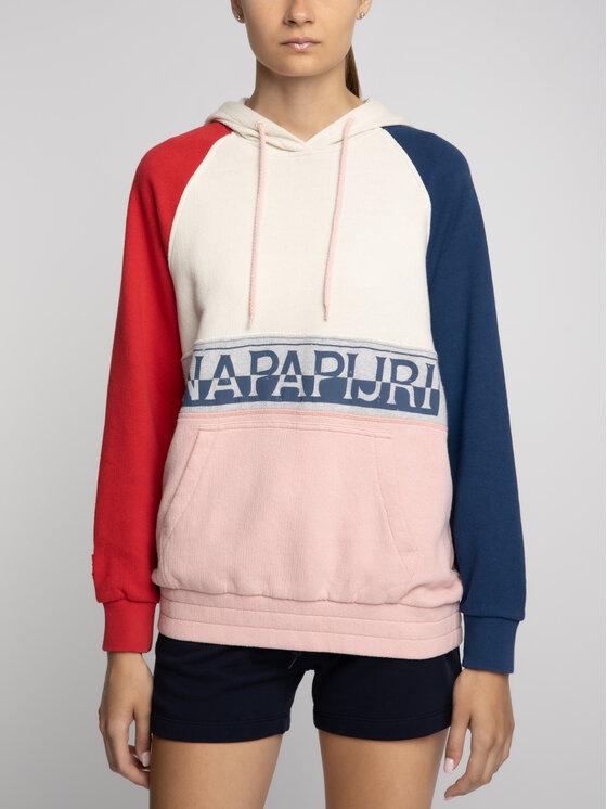 Napapijri Napapijri Bluza Belix H N0YIIK Kolorowy Regular Fit