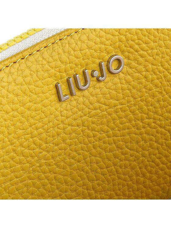 Liu Jo Liu Jo Duży Portfel Damski Zip Around Eubea N16044 E0086 Żółty