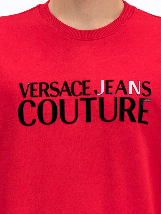 Versace Jeans Couture Versace Jeans Couture Sweatshirt B7GUA7FY Rot Regular Fit