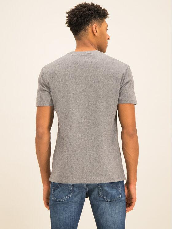 Tommy Jeans Tommy Jeans Tričko Tjm Tommy Classics Tee DM0DM06061 Sivá Regular Fit