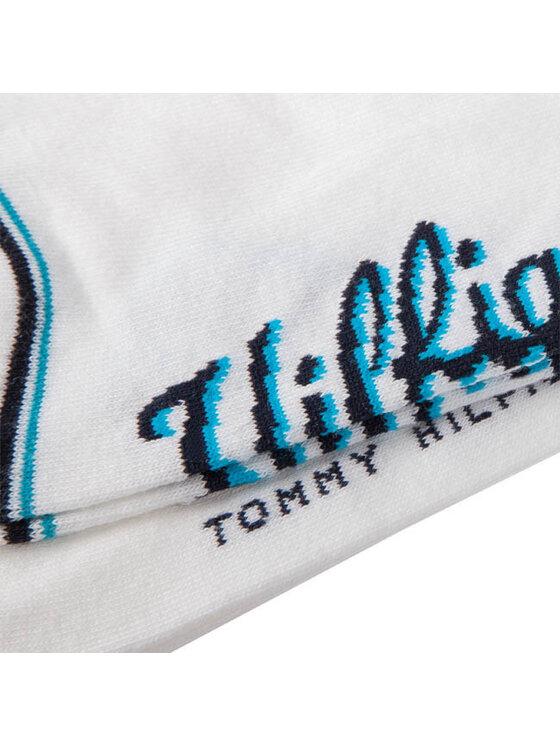 Tommy Hilfiger Tommy Hilfiger Zestaw 2 par niskich skarpet unisex 332017001 300 White Biały