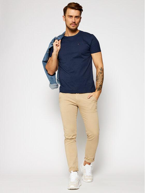 Tommy Jeans Tommy Jeans Тишърт DM0DM04411 Тъмносин Regular Fit