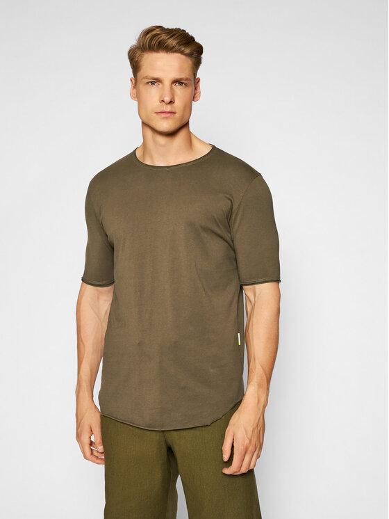 Imperial Marškinėliai TB92BATL Žalia Regular Fit