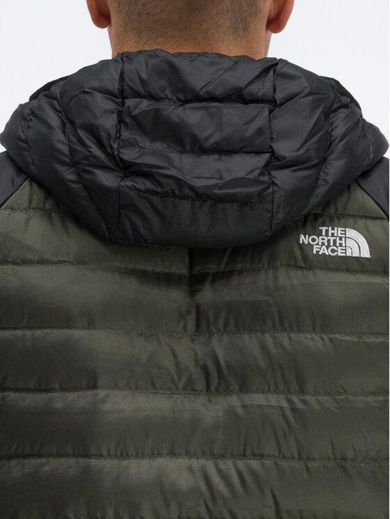 The North Face The North Face Pūkinė striukė Travail NF0A39N4BQW Žalia Regular Fit