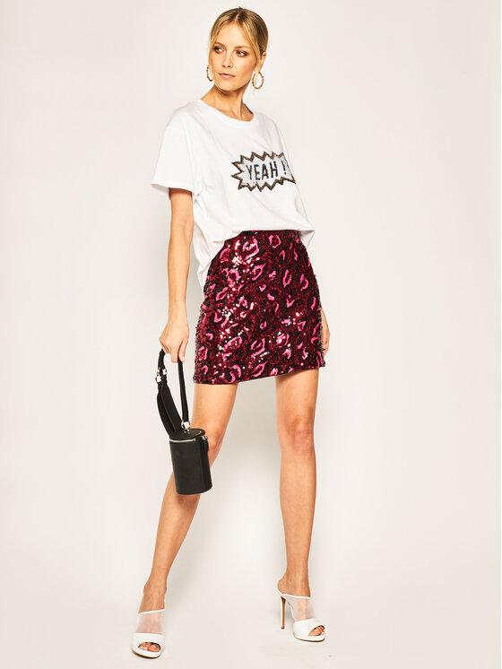 Guess Guess Spódnica mini Lina W01D74 WCLV0 Różowy Regular Fit