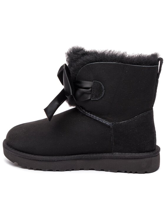 Ugg Ugg Παπούτσια W Gita Bow Mini 1098360 Μαύρο