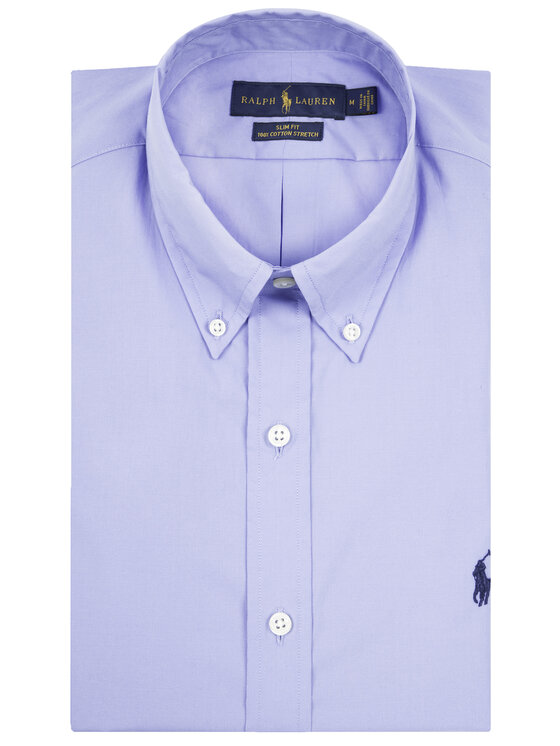 Polo Ralph Lauren Polo Ralph Lauren Koszula 710737080 Niebieski Regular Fit