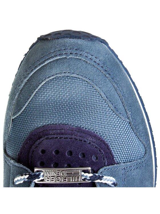 Tommy Hilfiger Tommy Hilfiger Sneakersy DENIM - Roan 1C-1 EM56818778 Modrá