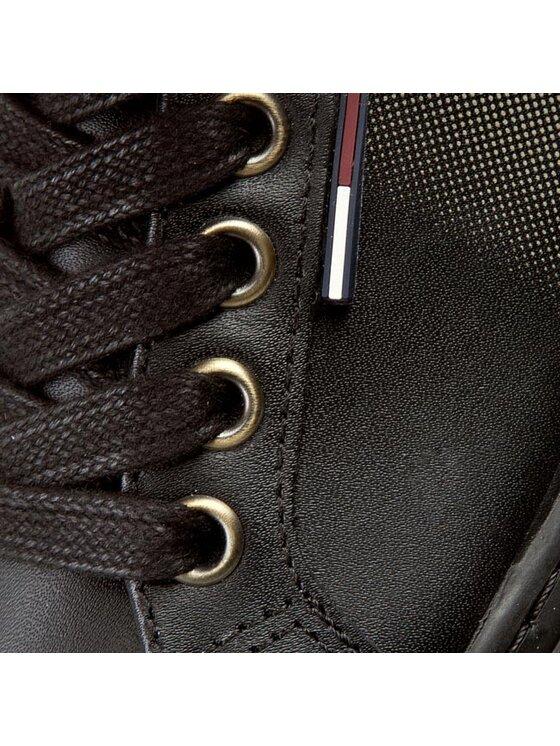 Tommy Hilfiger Tommy Hilfiger Sneakersy DENIM Luciana 6A EN56821861 Czarny