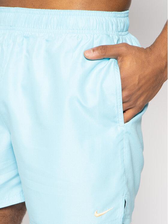 Nike Nike Szorty kąpielowe Solid Lap NESS9502 Niebieski Regular Fit
