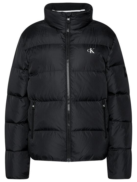 Calvin Klein Jeans Calvin Klein Jeans Pūkinė striukė J30J315679 Juoda Regular Fit