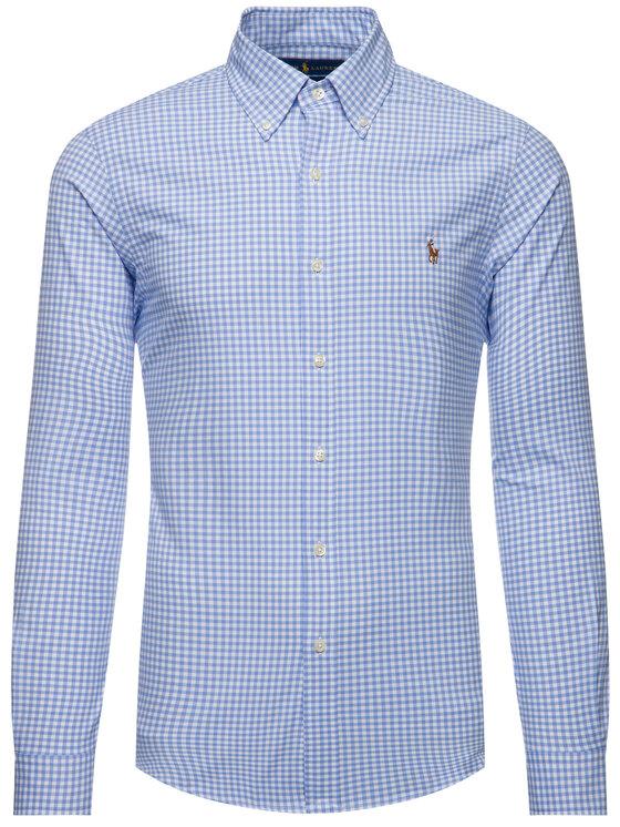 Polo Ralph Lauren Polo Ralph Lauren Košeľa Classics 710781974001 Modrá Slim Fit