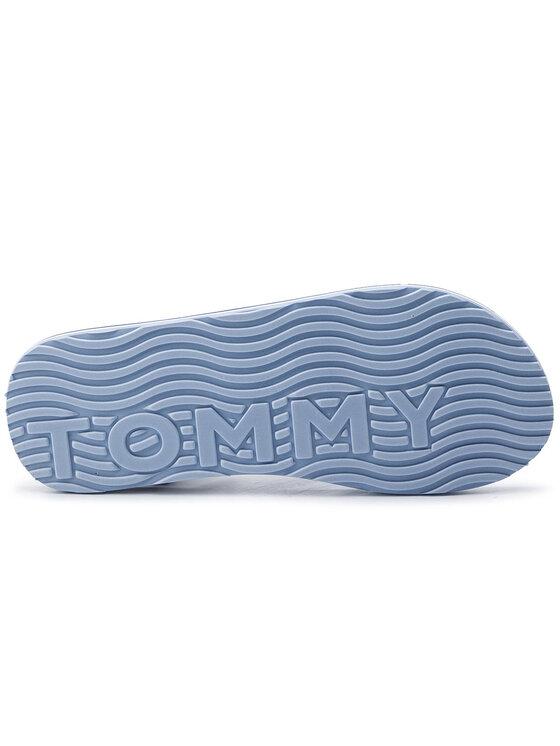 Tommy Hilfiger Tommy Hilfiger Flip flop Corporate Webbing Beach Sandal FM0FM02266 Albastru