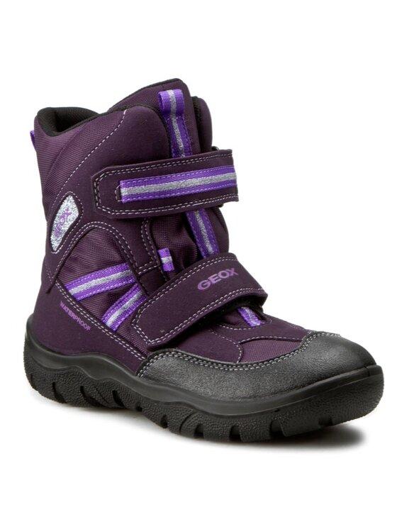 Geox Geox Sniego batai J Frosty G.Wpf C J64D4C 0FUAU C8KQ8 D Violetinė