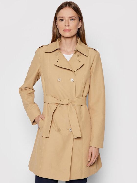 MAX&Co. Demisezoninis paltas Milo 40245021 Ruda Regular Fit